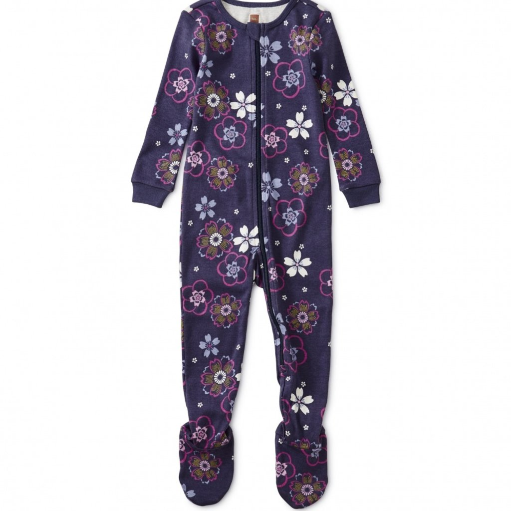 Tea Collection Patterned Footed Pajamas