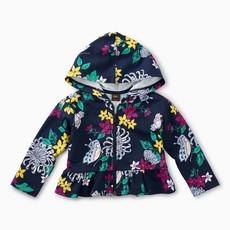 Tea Collection Blooms Baby Zip Hoodie Blooms and Butterflies
