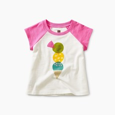 Tea Collection Triple Treat Baby Graphic Tee