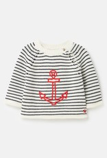 Little Joule Beau Anchor Knitted Sweater