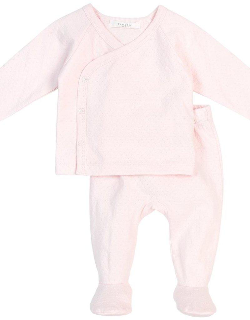 Petit lem Pink 2 PC Baby Set