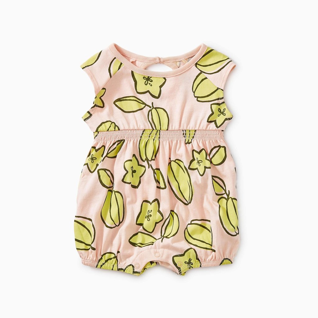 Tea Collection Printed Keyhole Romper
