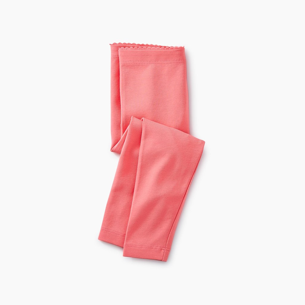 Tea Collection Solid Baby Leggings GRAPEFRUIT