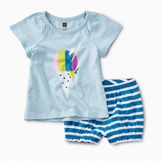 Tea Collection Hawaiian Ice Baby Outfit