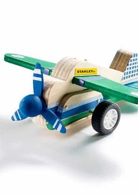STANLEY Jr Pull Back Airplane Kit