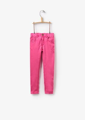 Joules True Pink Coloured Jeans  6
