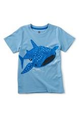 Tea Collection Tattle Whale Shark Tee