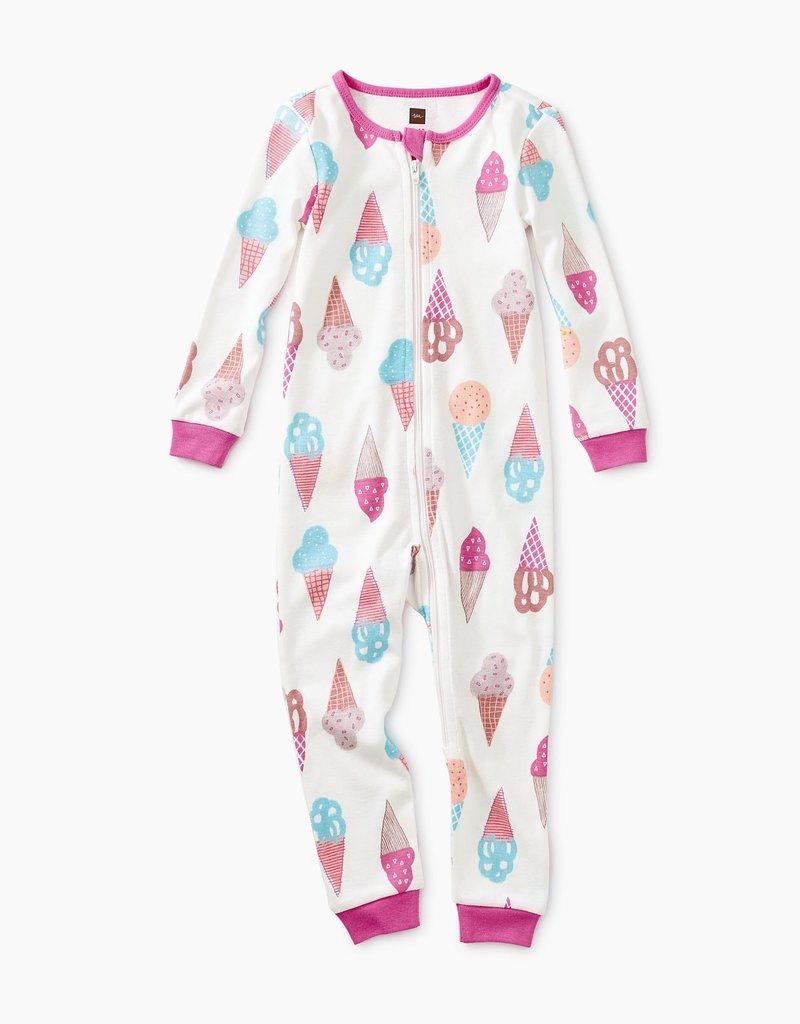 Tea Collection Patterned Long Sleeve Baby Pajamas