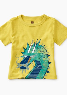 Tea Collection Tiptop Dragon Baby Graphic Tee