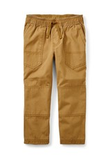Tea Collection Canvas Explorer Baby Pants Raw Umber
