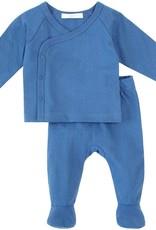 Petit lem Blue 2PC Baby Set
