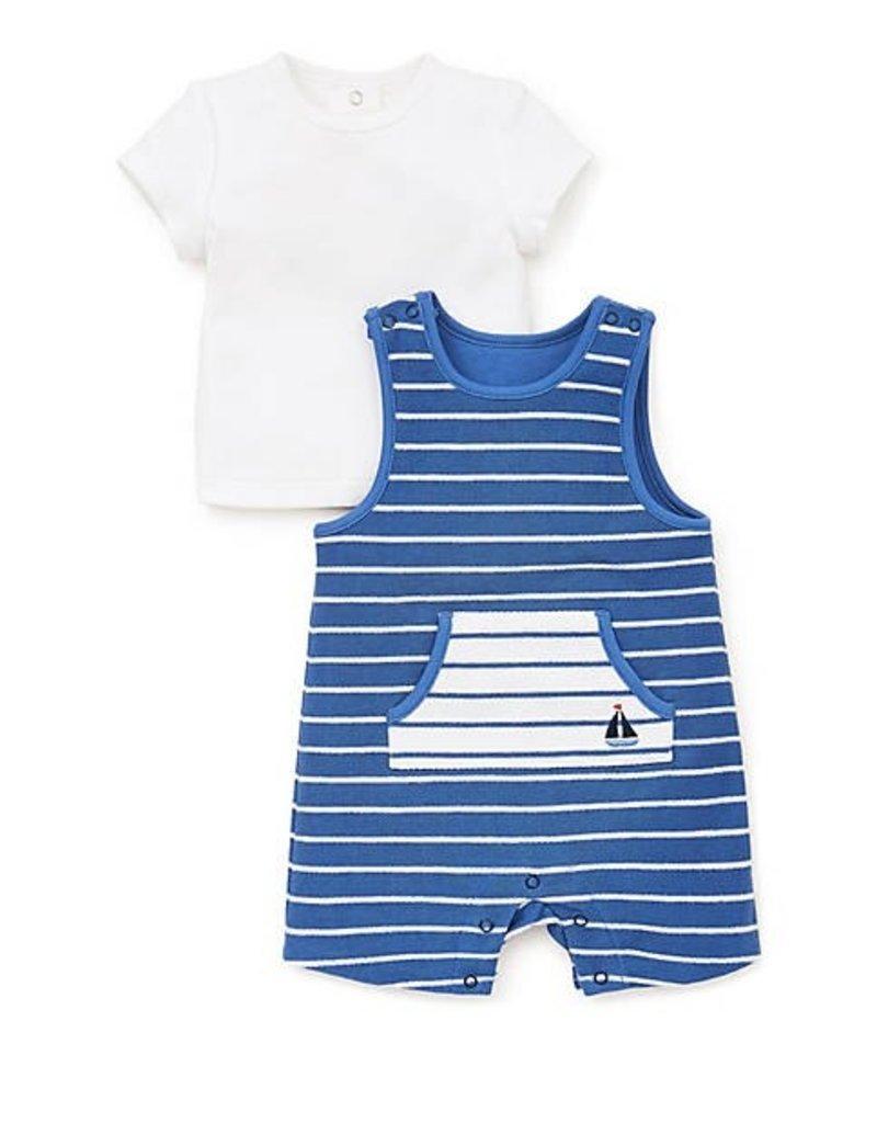 Little Me Nautical Knit Shortall