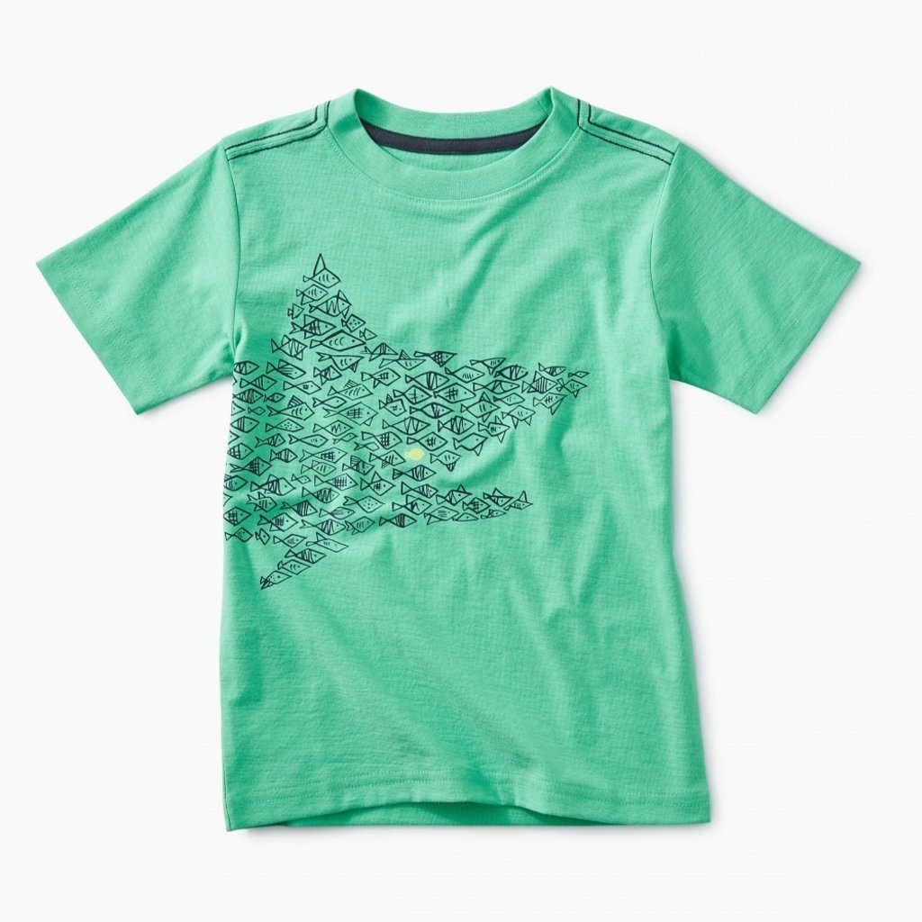 Tea Collection One Big Fish Baby Graphic Tee