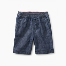 Tea Collection Easy Does It Chambray Baby Shorts