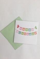 Happy Birthday Enclosure Card