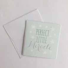 Perfect Little Miracle Enclosure Card