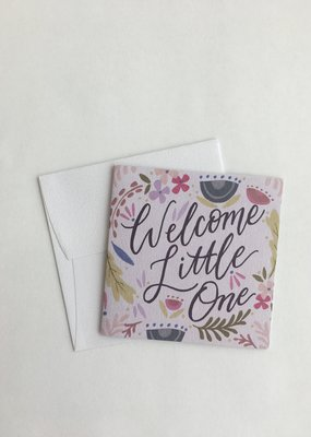 Welcome Little One Enclosure Card