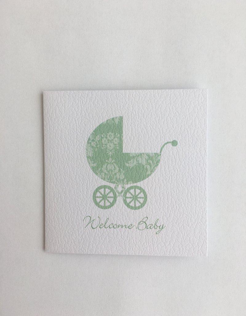 Green Buggy Enclosure Card