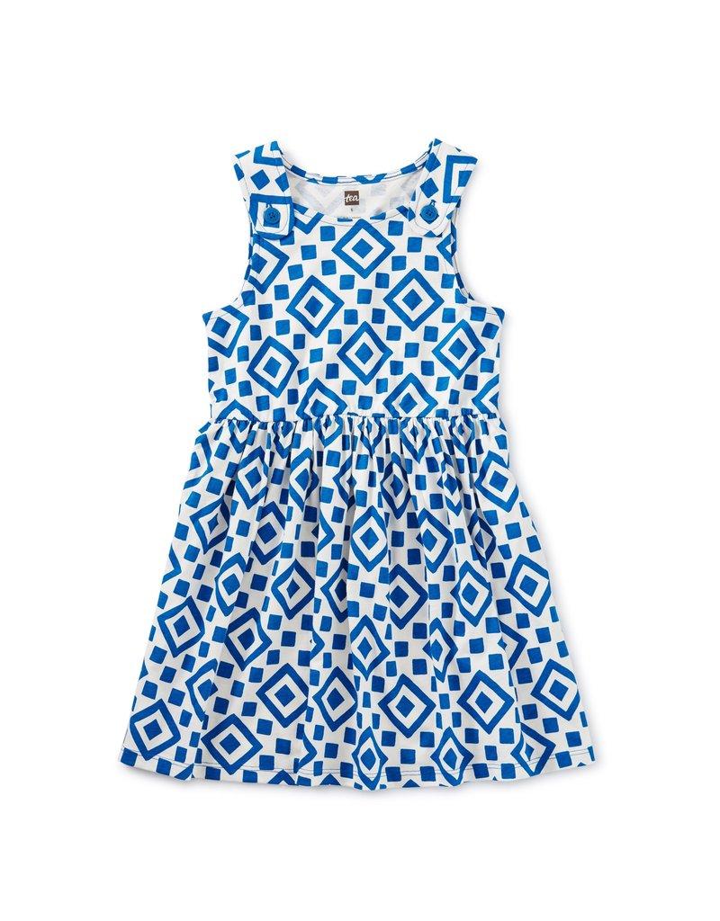 Tea Collection Button Shoulder Dress