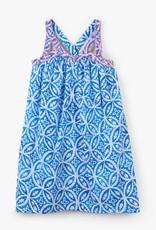 Hatley Blue Mandala Handkerchief Dress