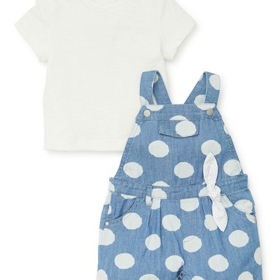 Little Me Polka Dot Jumper Set