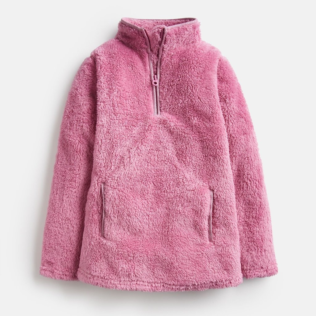 Cherry Blossom Half Zip Fleece