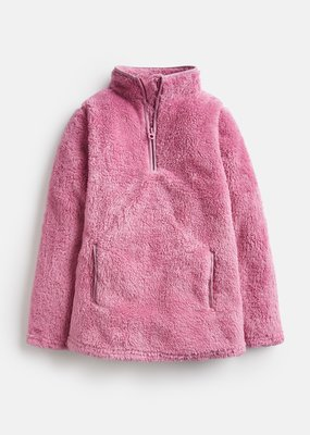 Little Joule Cherry Blossom Half Zip Fleece