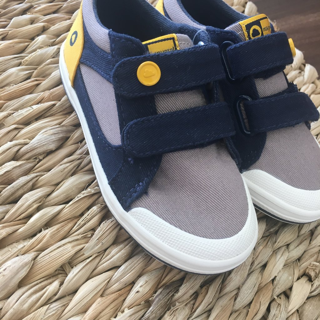 Mayoral USA Gray Canvas Trainers