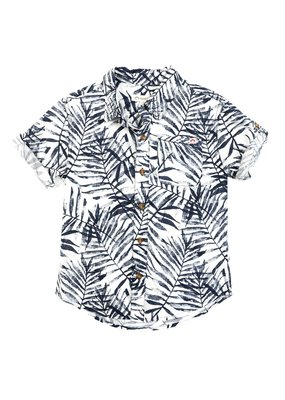 Appaman Navy Areca Pattern Shirt