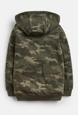 Little Joule Camo Fleece Lined Hoodie