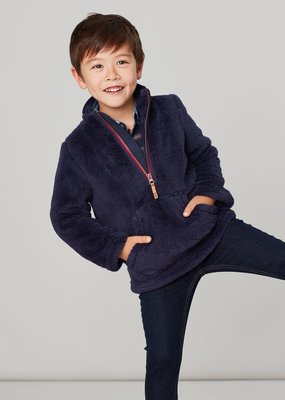 Little Joule French Navy Fleece