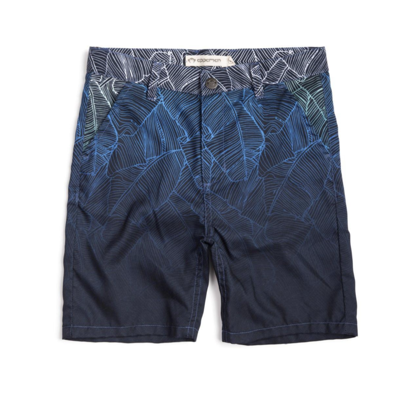 Appaman Ombre Palms Hybrid Shorts