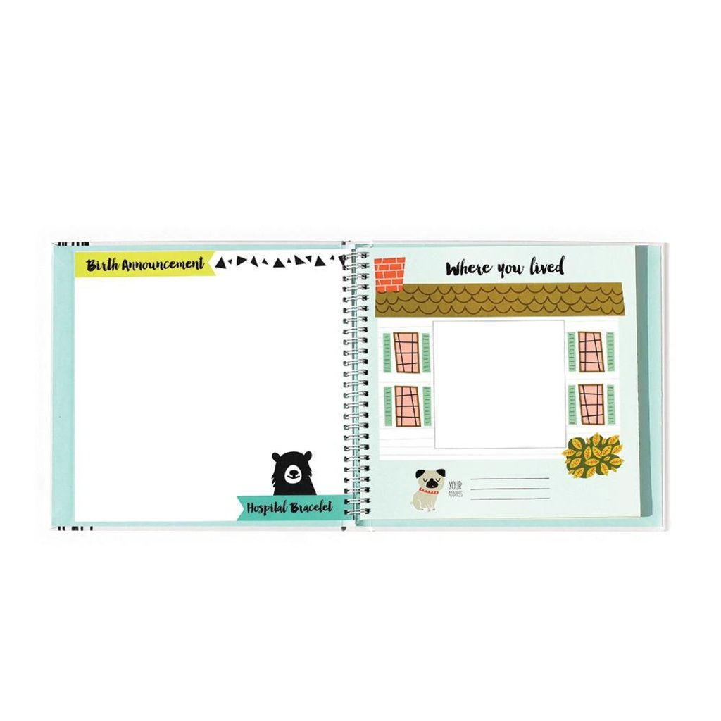 Lucy Darling Little Animal Memory Book
