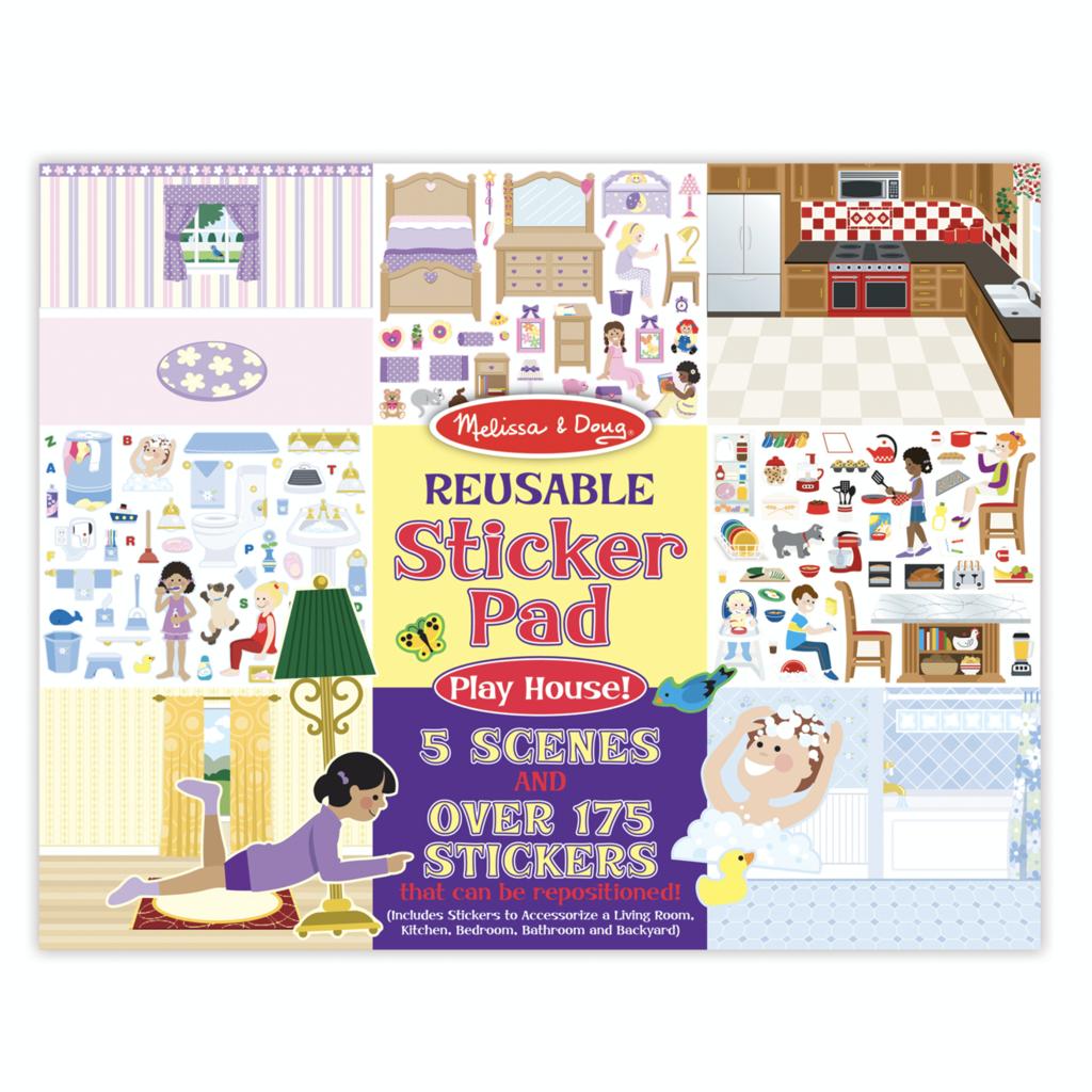 Melissa & Doug, LLC Play House Reusable Sticker Pad