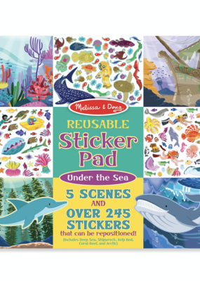 Melissa & Doug, LLC Under the Sea Reusable Sticker Pad