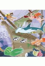 Under the Sea Reusable Sticker Pad