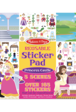 Princess Castle Reusable Sticker Pad