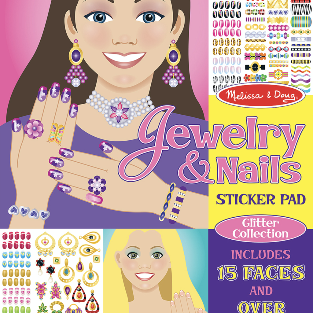 Melissa & Doug, LLC jewelry and nails glitter collection