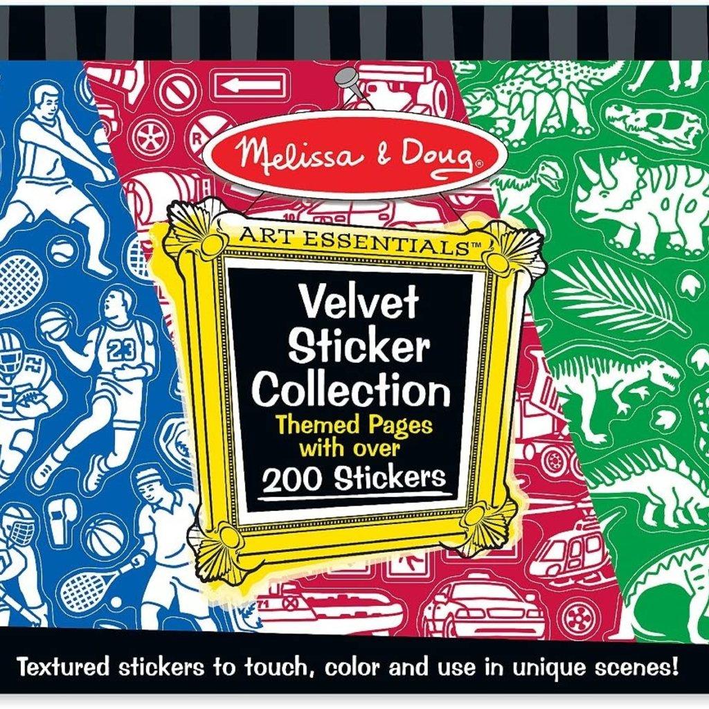 Melissa & Doug, LLC Velvet Sticker Collection