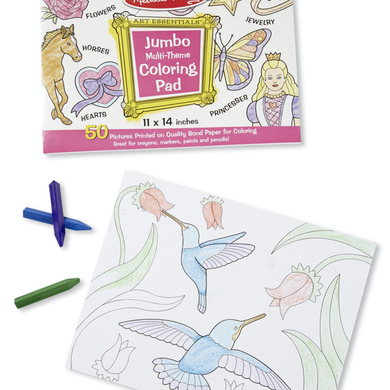 Melissa & Doug, LLC Jumbo multi theme coloring pad