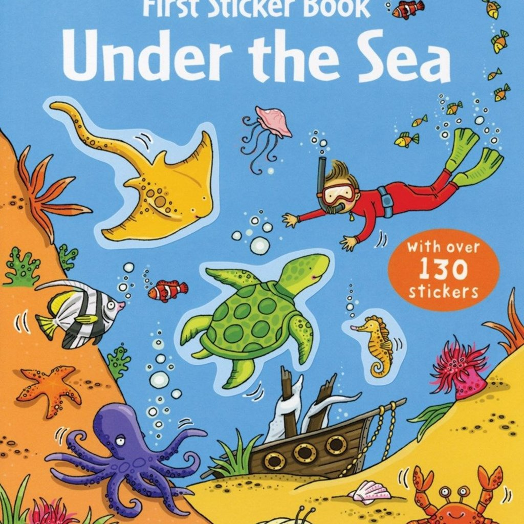 Usborne Books First Sticker Book, Under the Sea