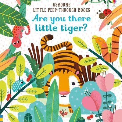 Usborne Books Are You There Little Tiger