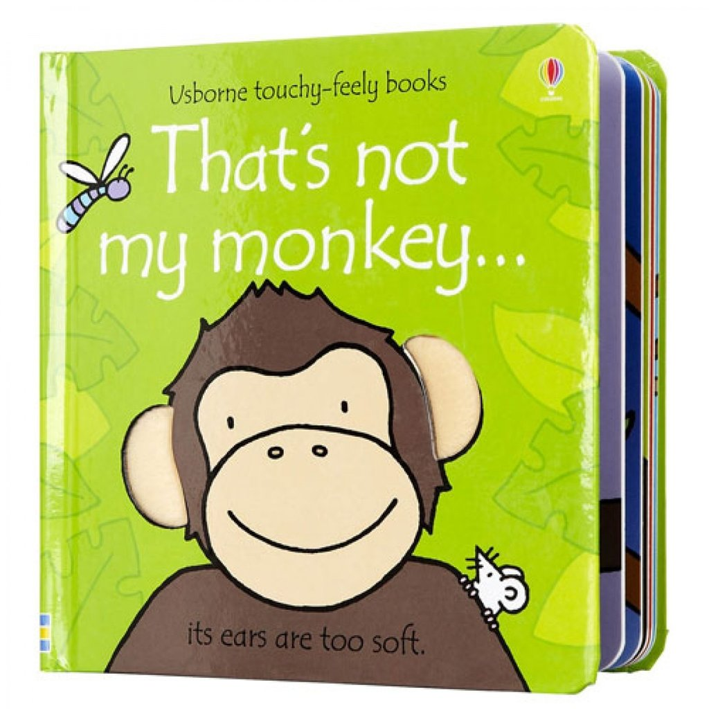 Usborne Books That's Not My Monkey