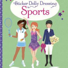 Usborne Books Sticker Dolly Dressing Sports
