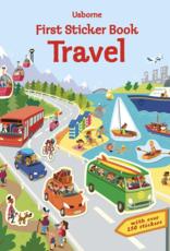Usborne Books First Sticker Book, Travel