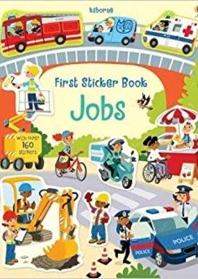 Usborne Books First Sticker Book, Jobs (IR)