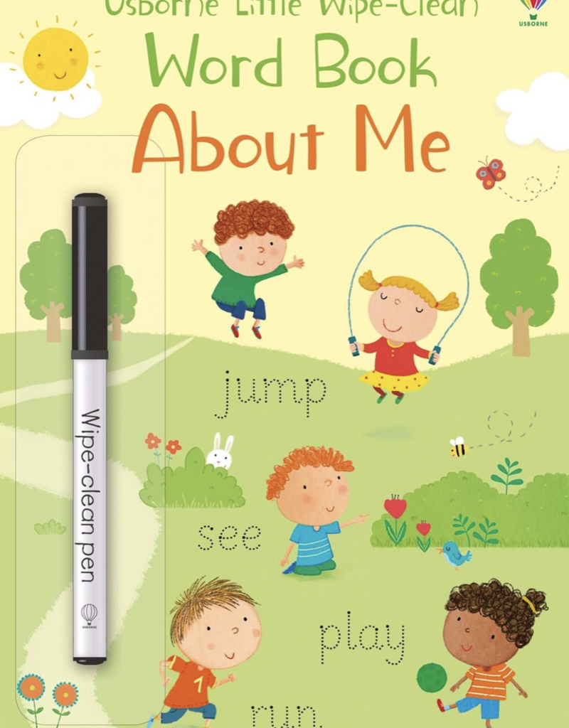 Usborne Books Little Wipe-Clean Word Book: About Me (IR)