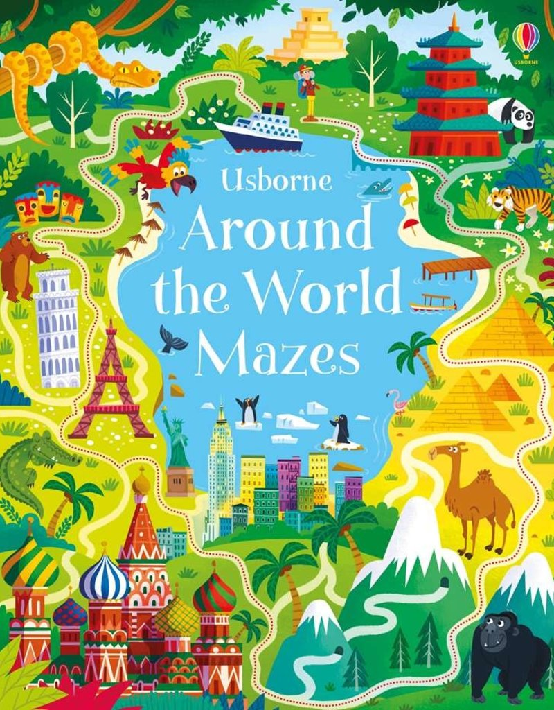 Usborne Books Around the World Mazes