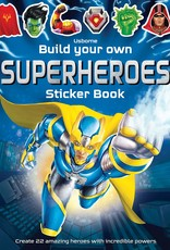 Usborne Books Build Your Own Superheroes Sticker Book