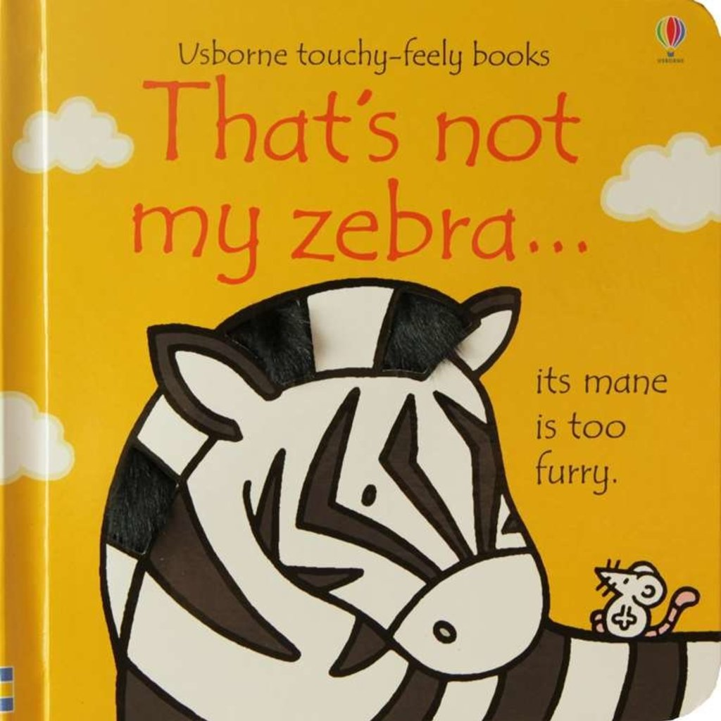 Usborne Books That's Not My Zebra